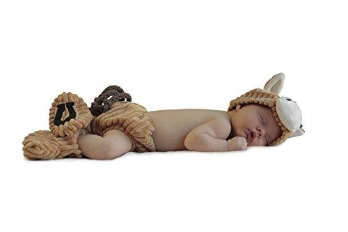 Princess Paradise Baby's Cuddly Colt Diaper Cover Set, Beige, 0-3 Months -