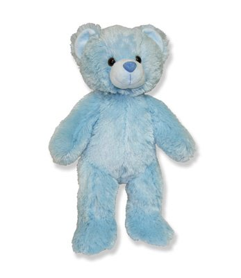 Long Message Recordable 15 Inch Blue Talking Teddy Bear with 30 Seconds of Recording Time.