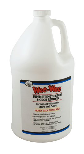 Four Paws Wee-Wee Cat and Dog Stain and Odor Remover, 1 Gallon