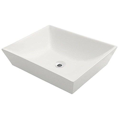 MR Direct V370-B Bisque Porcelain Vessel Lavatory Sink