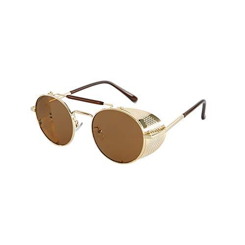 Lunettes lunettes de NIFG de soleil soleil rondes anti UV dggUqtw