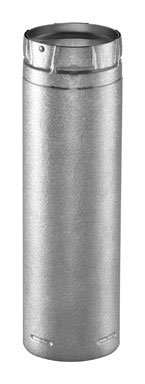 Simpson Duravent Pipe Adjustable Length, Insulated 12
