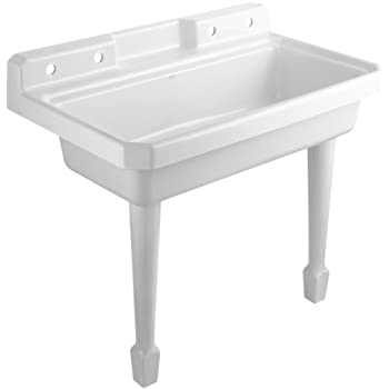 Kohler K 6607 3 0 Harborview Self Rimming Or Wall Mount