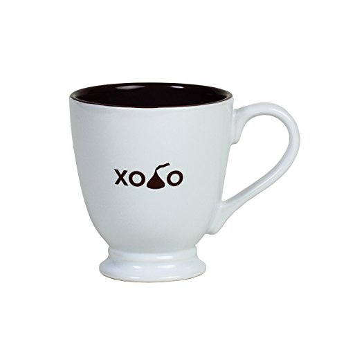 - XO-Kiss-O Mug, White, 16oz