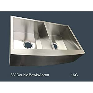 31MGsc2nifL._SS300_ 75+ Beautiful Stainless Steel Farmhouse Sinks For 2020