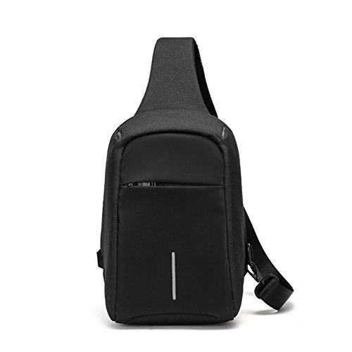Pack Messenger Theft Business Bag Man A Sports with A Outdoor Bag Anti Chest Shoulder Bag Versatile Bumbag q4pf1Hw