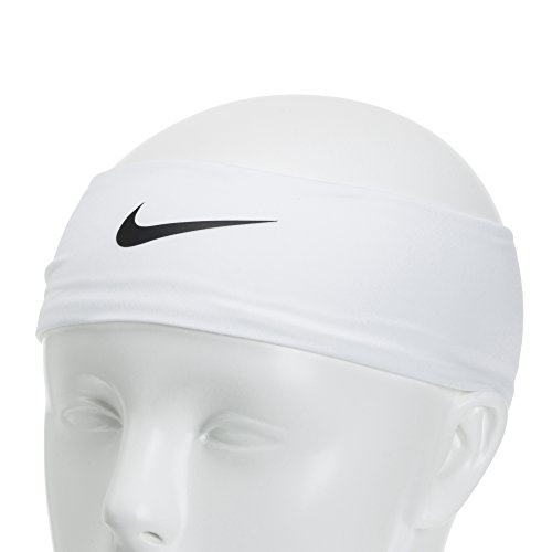 Nike Fury Headband 2.0 (OSFM,White/Black) by Nike (Image #4)