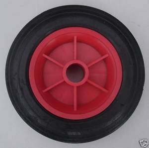 2 off 7.5 SACK TRUCK/TROLLEYS/REPLACEMENT WHEEL/SOLID TYRE by Keto Plastics