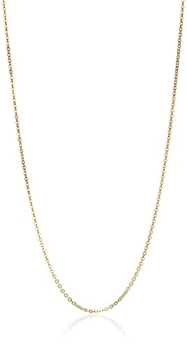 10k Gold 20 Inch Necklace - 9