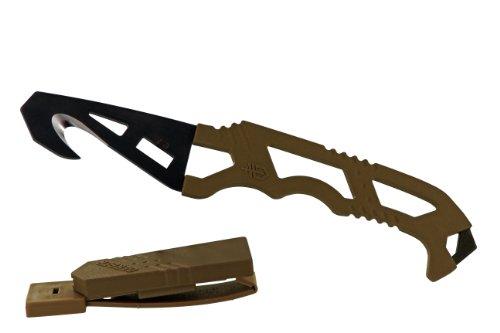 Gerber 30-000608 Crisis Hook Knife with Sheath, Outdoor Stuffs