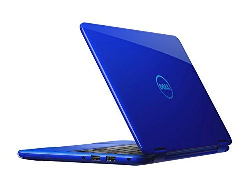 2018 Dell Inspiron 11 3000 11.6″ 2-in-1 Convertible HD Touchscreen Laptop Computer, Intel Quad-Core Pentium N3710 Up to 2.56GHz, 4GB RAM, 128GB SSD, WiFi, Bluetooth, HDMI, USB3.0, Blue, Windows 10
