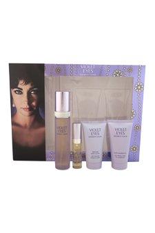 Elizabeth Taylor Violet Eyes Perfume Gift Set, 4 Count W-GS-3785