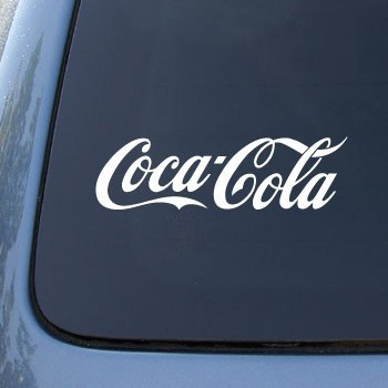 Amazoncom COCACOLA Coke Vinyl Car Decal Sticker - Car decal stickers