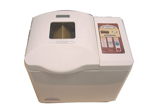 Breadman TR888 Corner Bakery 2-Pound Programmable Bread Maker