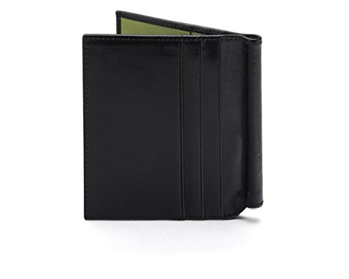 Money Black SAGEBROWN Wallet SAGEBROWN With Lime Clip Compact Compact w16tY