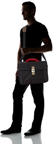 CRISTO-Borsa Messenger, colore: nero, cte29037_noir_43, colore: nero