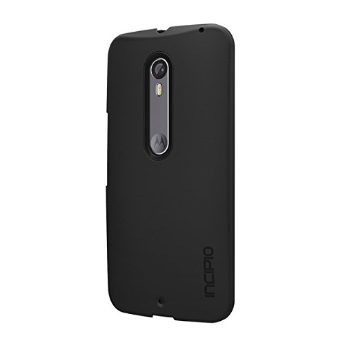 Incipio Lightweight, Feather Carrying Case for Moto X Pure Edition/Moto X Style - Retail Packaging - Black