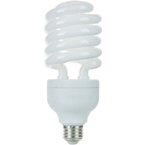 - Sunlite SL42/65K 42 Watt High Wattage Spiral Energy Saving CFL Light Bulb Medium Base Daylight