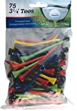"INTECH Golf Tee 3 1/4"" 75 Pack (Multi)"