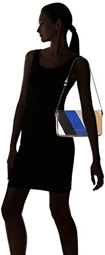 Fiorelli Simone - Bolso al hombro de sintético mujer Blanco - Off-White (Colourblock Stripes)