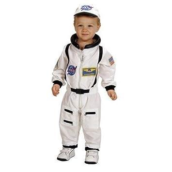 Amazon.com: La Nasa Jr. Astronauta Traje/Disfraz para niño: Baby