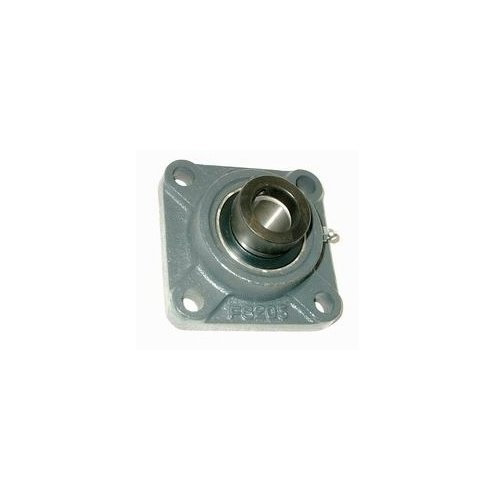 Big Bearing HCFS215-48 Four Bolt Flange Bearing with Lock Collar, 3'' Shaft Size, 7.87'' Length, 3.77'' Thickness, Iron