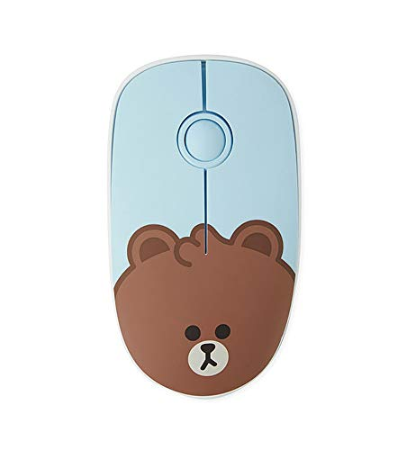 Line Friends Brown Silent Wireless Mouse