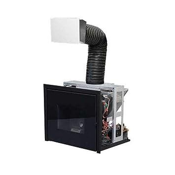 Pellet de calefacción Chimenea MCZ Vivo 80 Pellet Hydro (16,9 kW): Amazon.es: Jardín