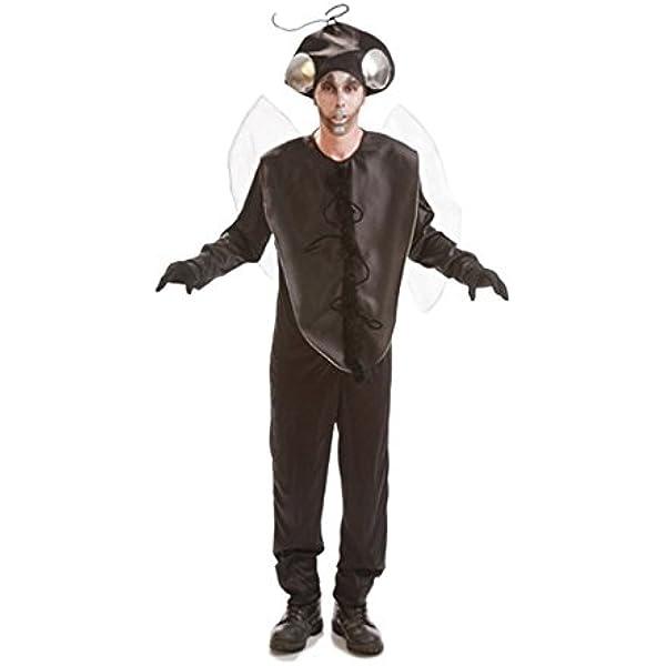 Disfraz de Mosca negra para hombres: Amazon.es: Juguetes y juegos