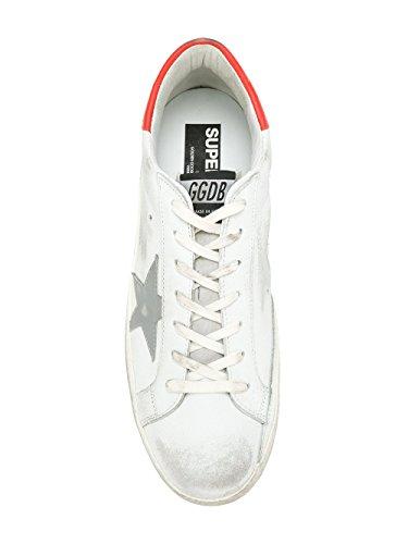 Goose Uomo Pelle Bianco Sneakers Golden G32ms590e96 pHwTZgg