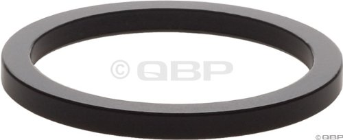 Wheels Manufacturing 1-Inch Spacer (Black/2.5mm, Bag of 5)