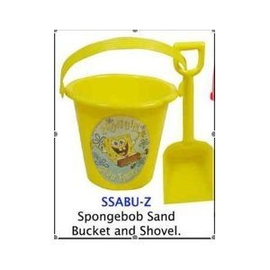 Spongebob Squarepants Summer Sand Bucket & Shovel -