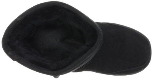 BEARPAW Meadow 5 Inch Shearling Boot (Toddler),Black,9 M US Toddler