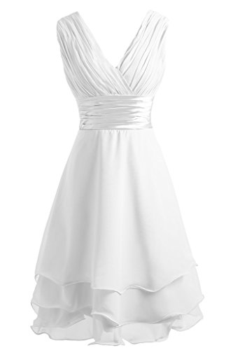 Ivydressing -  Vestito  - linea ad a - Donna bianco 34
