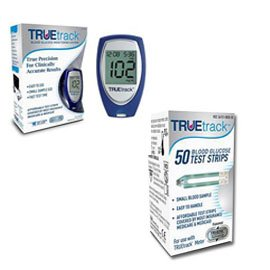 FREE TrueTrack Smart System Diabetes Meter Deal (Meter plus 50 strips)