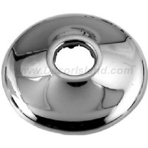 "Westbrass D1291-54 1/2"" IPS Bell Pattern Sure Grip Flange, Pwdr Coat Black"