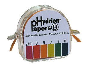 pH Hydrion Paper Double Roll 1-11 Range