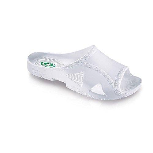 fashy® Herren Bio-Slipper Hygiene Sandale, Antibakteriell Rutschhemmend - (Made In Germany)