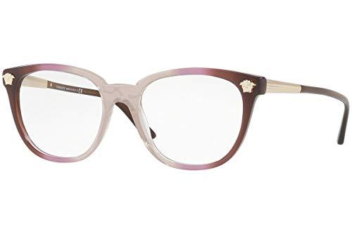 Versace VE3242 Eyeglasses 52-18-140 Violet Crystal Brown Gradient w/Demo Clear Lens 5229 VE ()