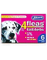 Johnsons 4Fleas Large Dog Tablets 6 Pack