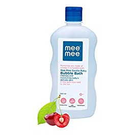 Mee Mee Gentle Baby Bubble Bath (With Cherry Extracts- 500 ml)