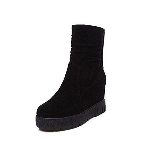 alti Stivali con tacco lampo black stivali alto cerniera cerniera e con T1Twq