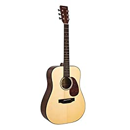 "SIGMA 41"" Acoustic Guitar, Dreadnought, 4/4 Full-Size, Premium Name-Brand Tuner & Steel String, Solid Gloss Spruce Top…"