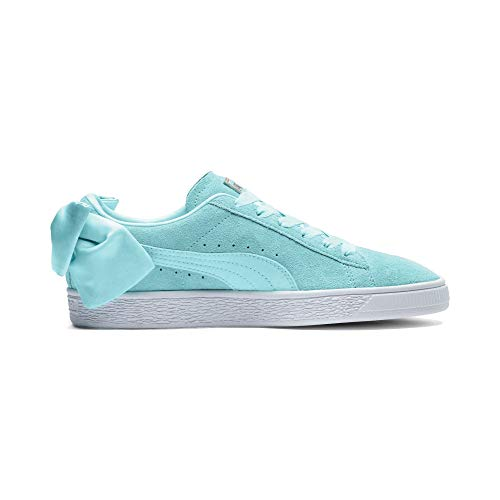 Bleu Suede Bow Wn's Puma Femme Sneakers Basses wAgYpnxnqW