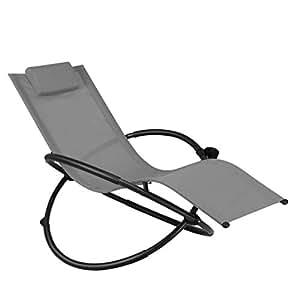 Amazon.com: Modern Zero Gravity Folding Lounge Chair ...