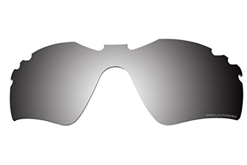 Polarized Lenses Replacement for Oakley Radar Path Vented Sunglasses - 6 Options Available (Black iridium)