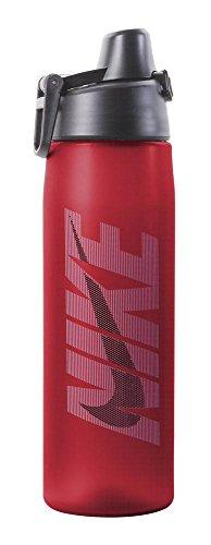 Nike Core Hydro Flow Graphic Water Bottle (24oz, Sport Red/University Blue/Dark Obsidian)