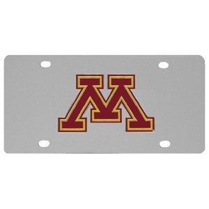 NCAA Minnesota Golden Gophers Steel License Plate