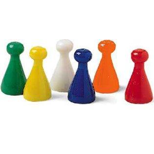 Juego De Peones En Colores Variados Set 48 Amazon Es Juguetes Y