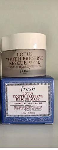 Fresh Lotus Youth Preserve Rescue Mask Mini 0.5 oz